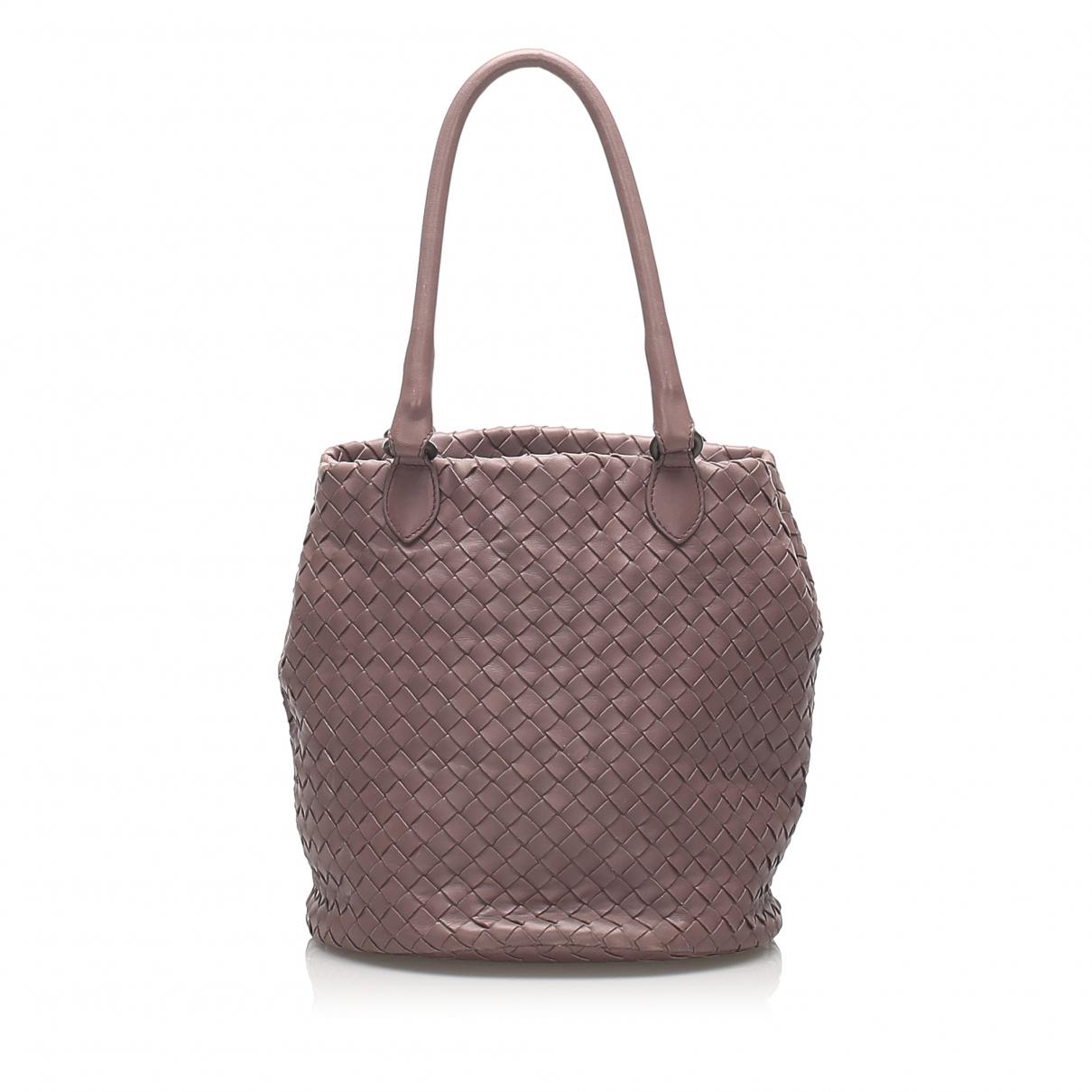 Bottega Veneta N Purple Leather handbag for Women N