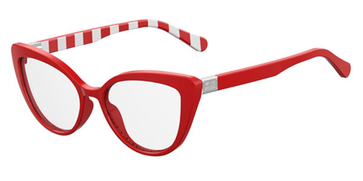Moschino Love MOL500 C9A Women's Glasses Red Size 54 - Free Lenses - HSA/FSA Insurance - Blue Light Block Available