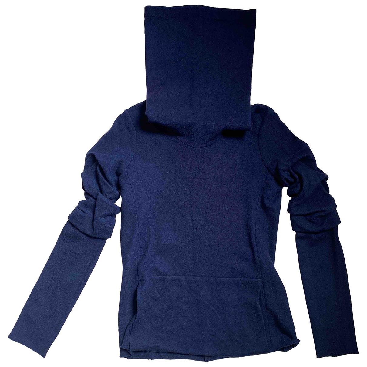 Dondup - Pull   pour femme en laine - bleu