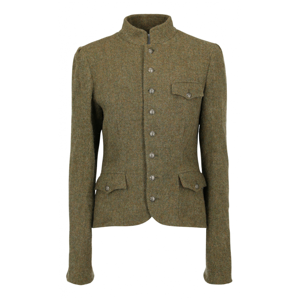 Ralph Lauren - Veste   pour femme en laine - kaki