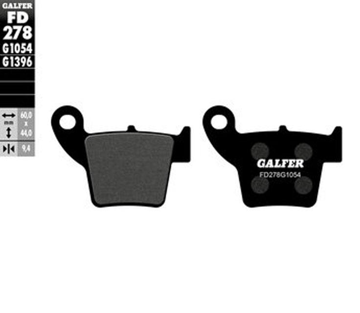 Galfer Rear Brake Pads HONDA CR 250 R