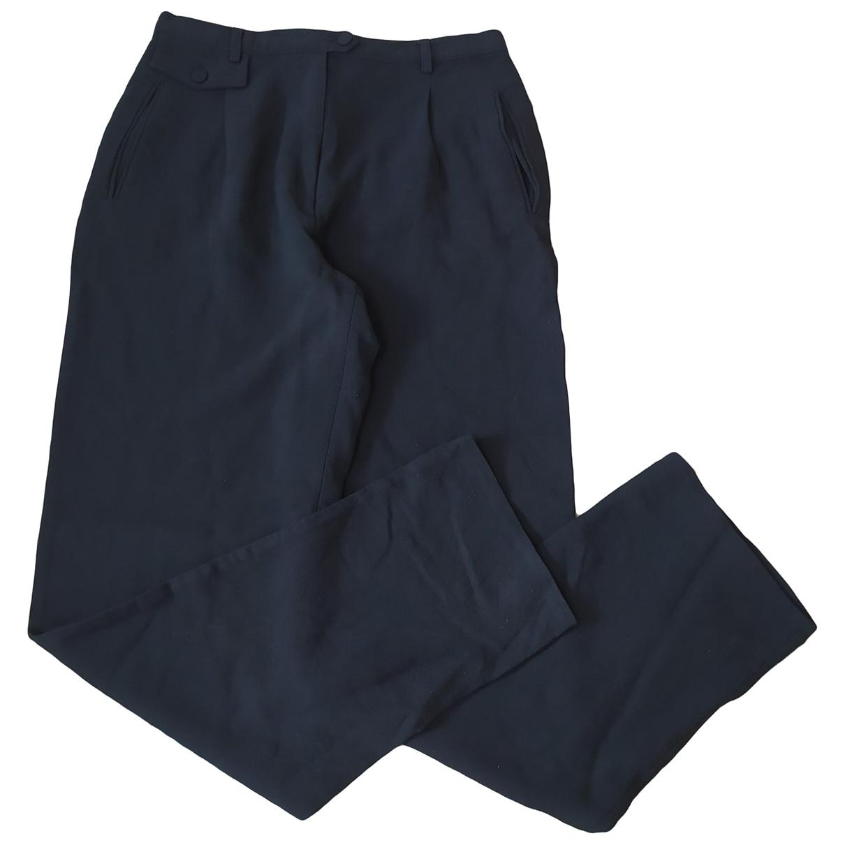 Pantalon largo de Lana Emporio Armani