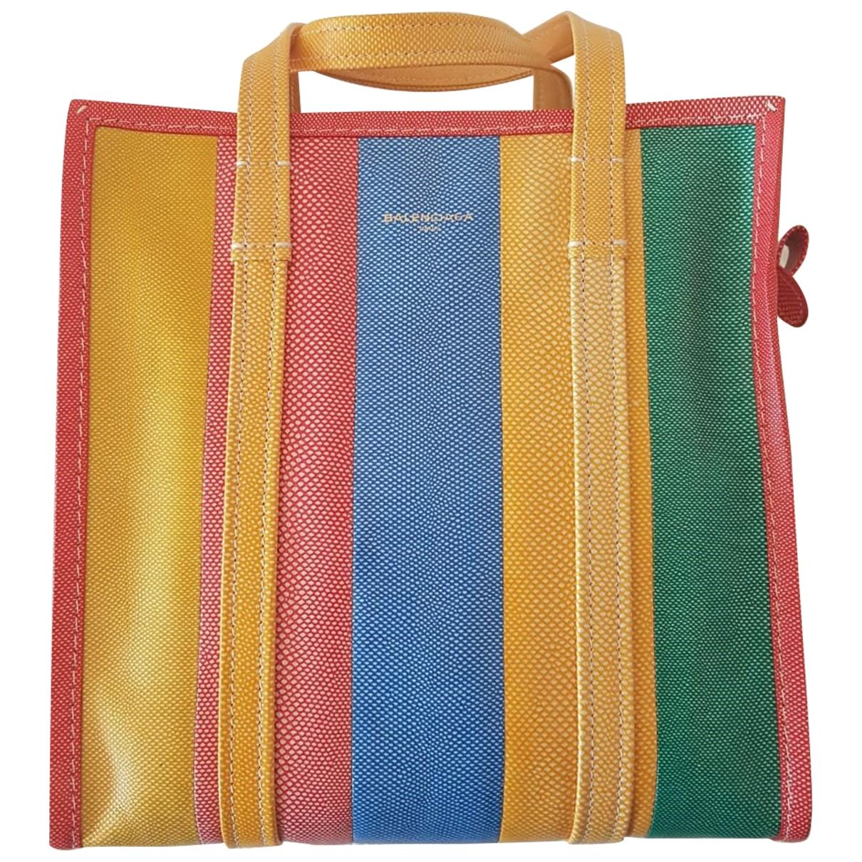Balenciaga Bazar Bag Multicolour Cloth handbag for Women \N