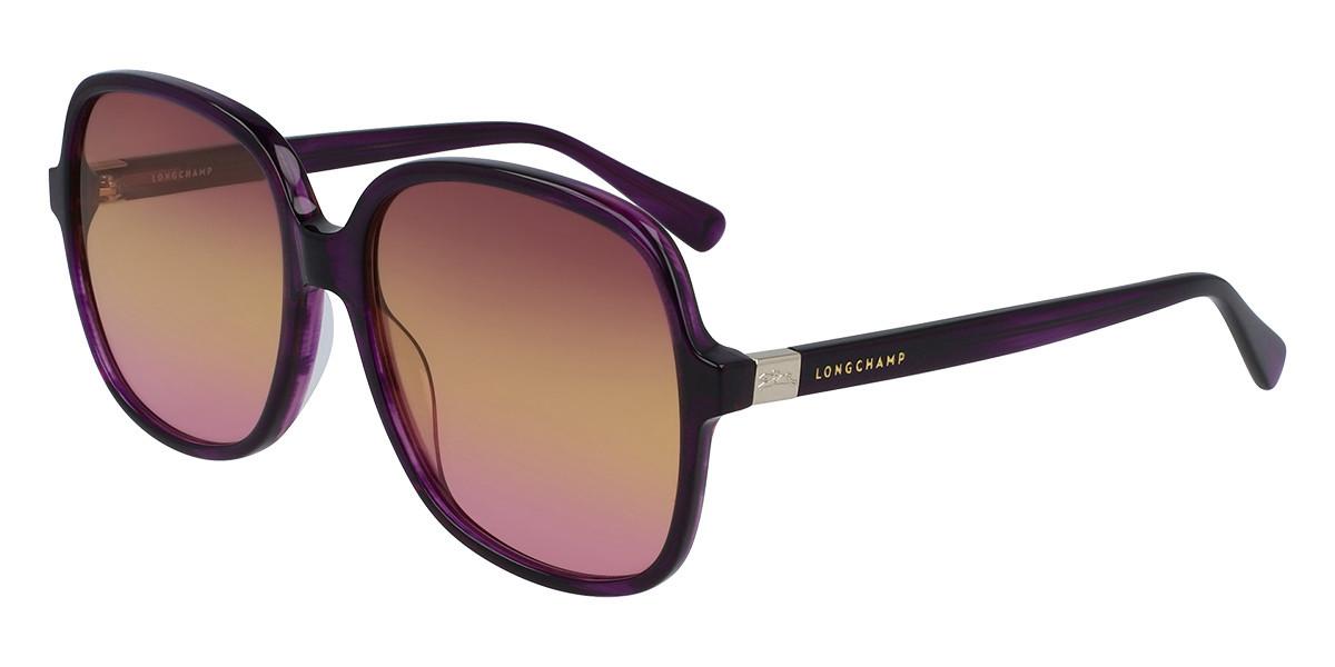 Longchamp LO668S 513 Women's Sunglasses Violet Size 58