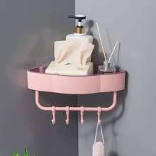 1 pieza estante de baño triangulo