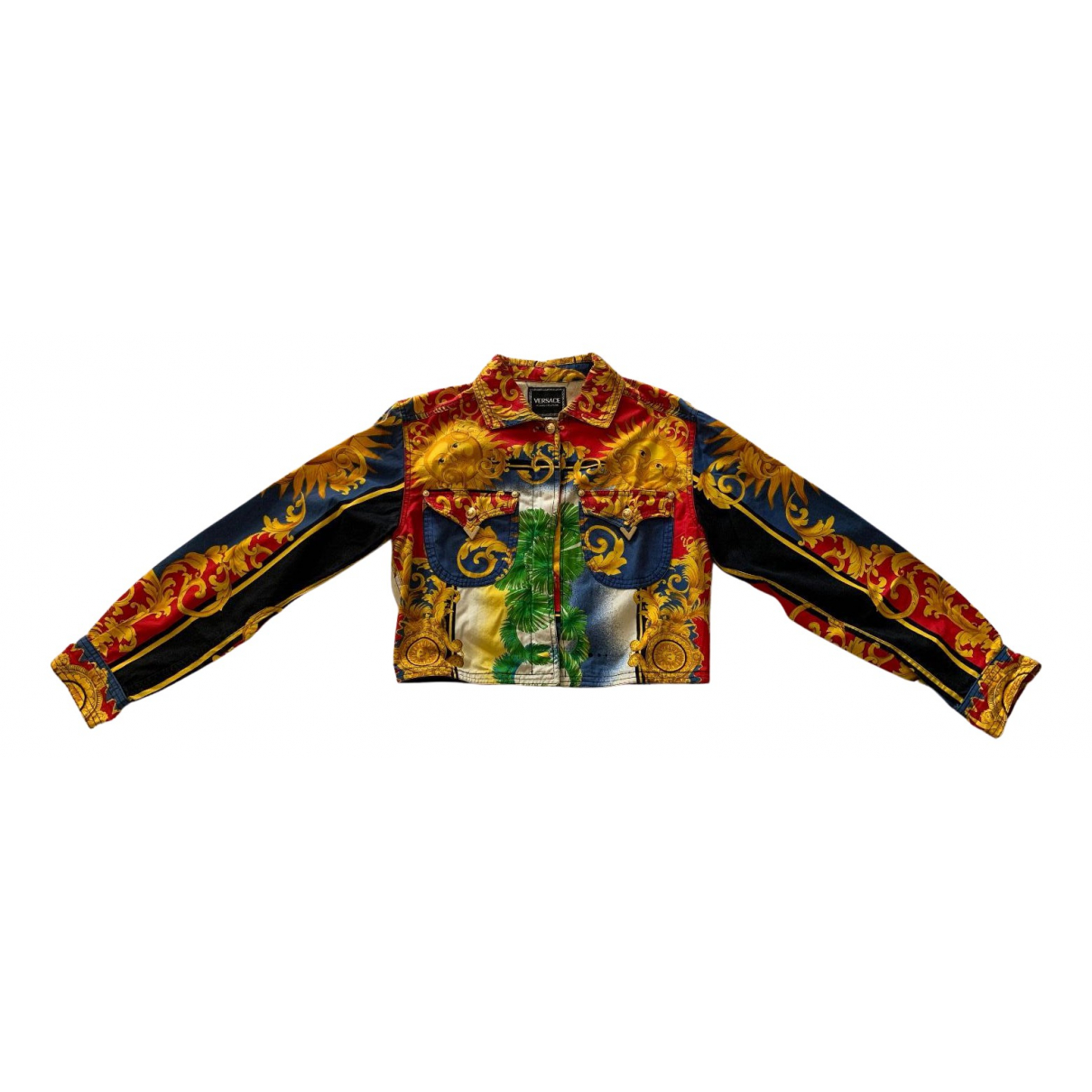 Versace Jeans N Multicolour Cotton jacket for Women L International