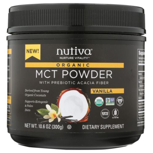 Organic MCT Powder 10.6 Oz by Nutiva