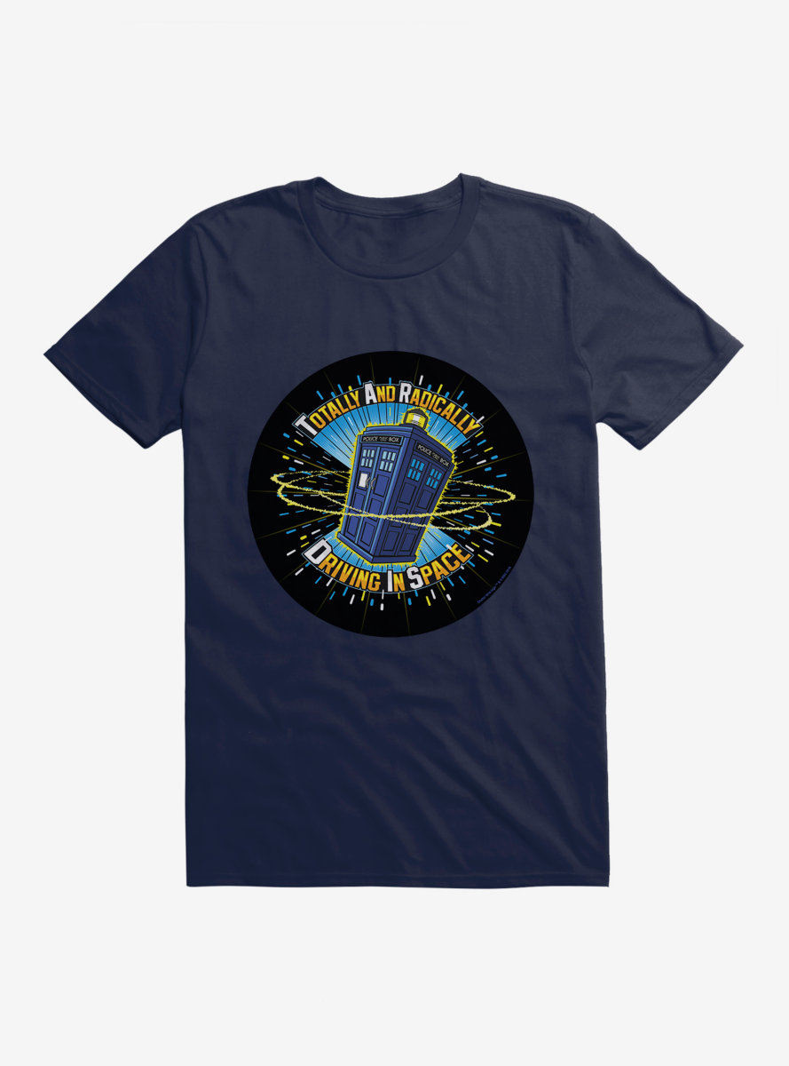 Doctor Who TARDIS Stands For Script T-Shirt