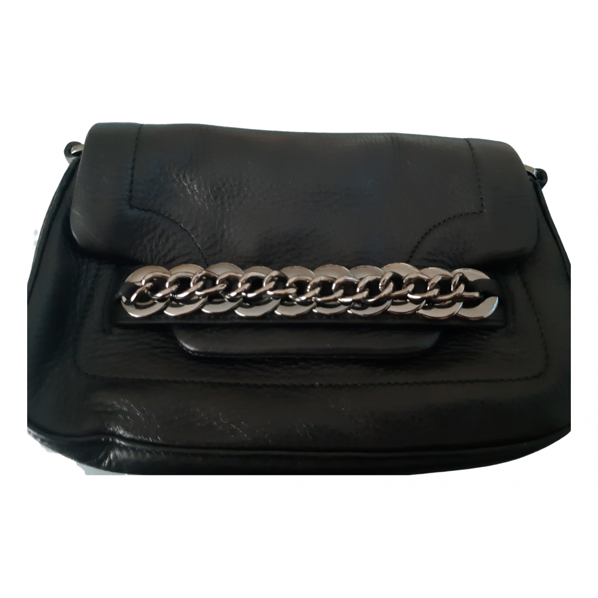 Calvin Klein \N Black Leather Clutch bag for Women \N