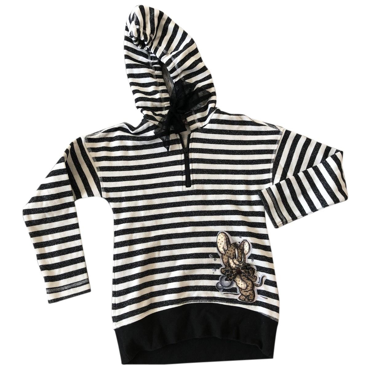 Monnalisa N Black Cotton Knitwear for Kids 12 years - XS UK