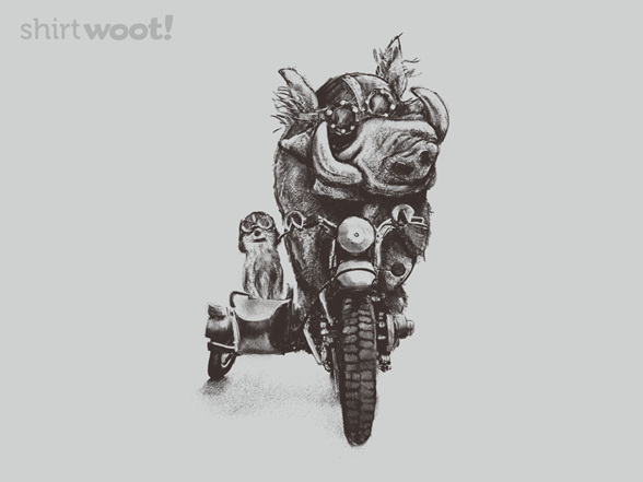 Meerly Road Hogs T Shirt