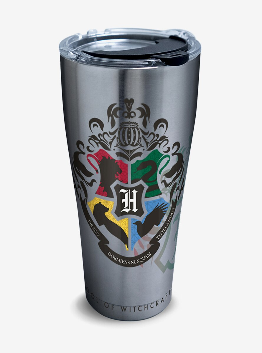 Harry Potter Hogwarts Alumni 30 oz Stainless Steel Tumbler With Lid