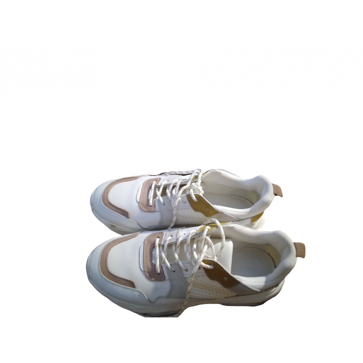 Uterque \N White Cloth Trainers for Women 40 EU