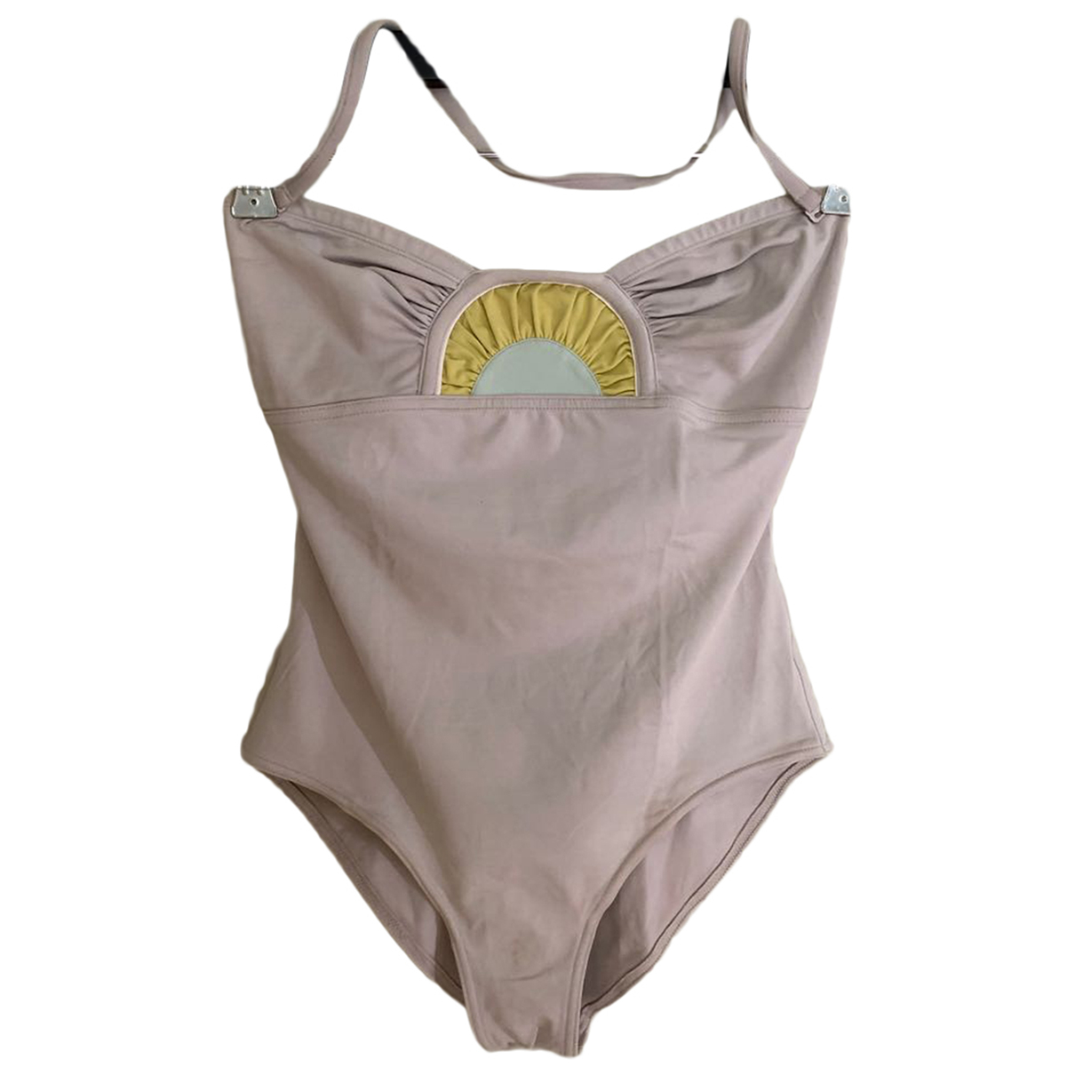 Eres - Bain   pour femme en coton - elasthane - beige