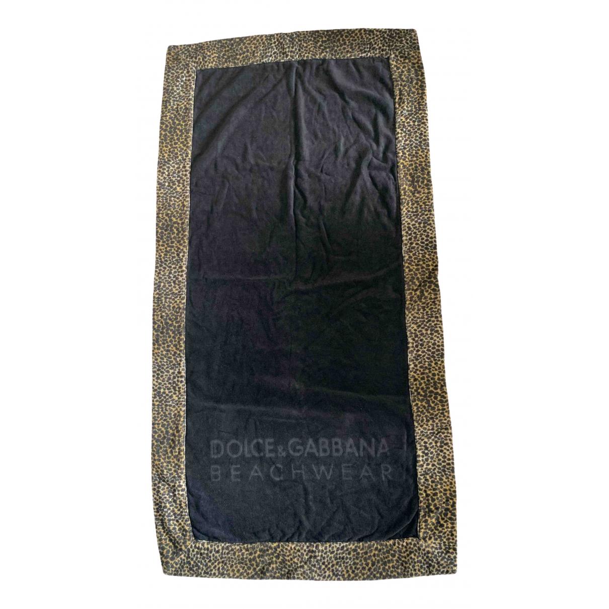 Dolce & Gabbana - Linge de maison   pour lifestyle en coton - noir