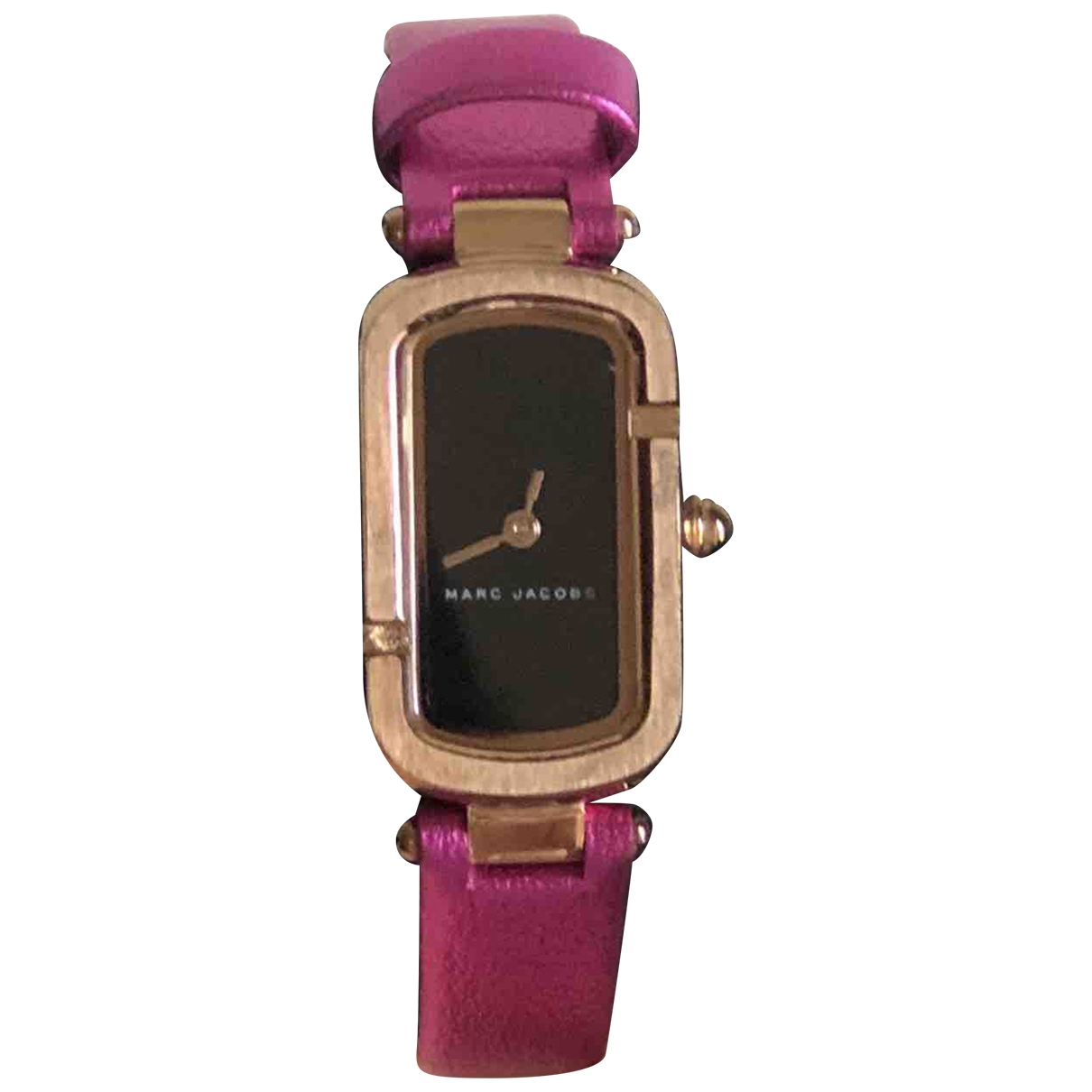 Marc By Marc Jacobs \N Uhr in  Rosa Stahl