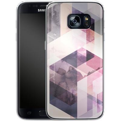 Samsung Galaxy S7 Silikon Handyhuelle - Graphic 166 von Mareike Bohmer