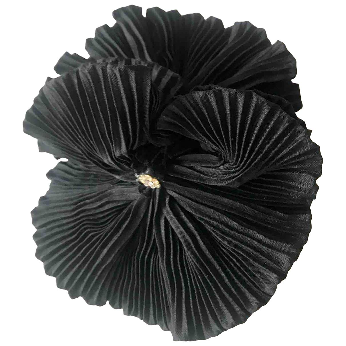 Nina Ricci - Bijoux de tete   pour femme en toile - noir