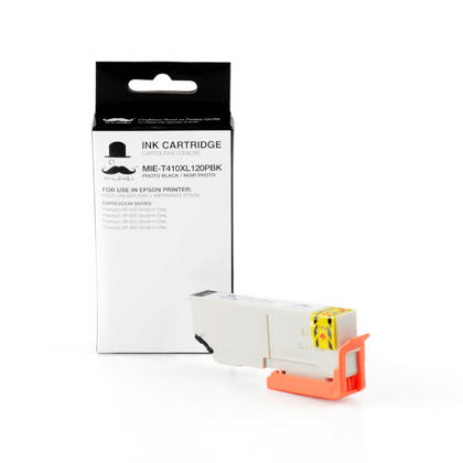 Compatible Epson Expression Premium XP-830 Photo Black Ink Cartridge by Moustache, High Capacity