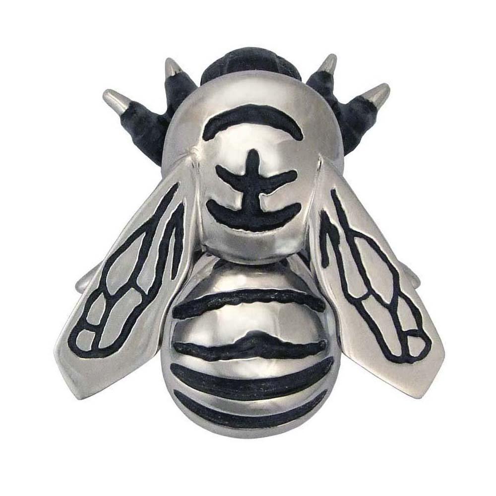 Bumblebee Door Knocker - Nickel Silver