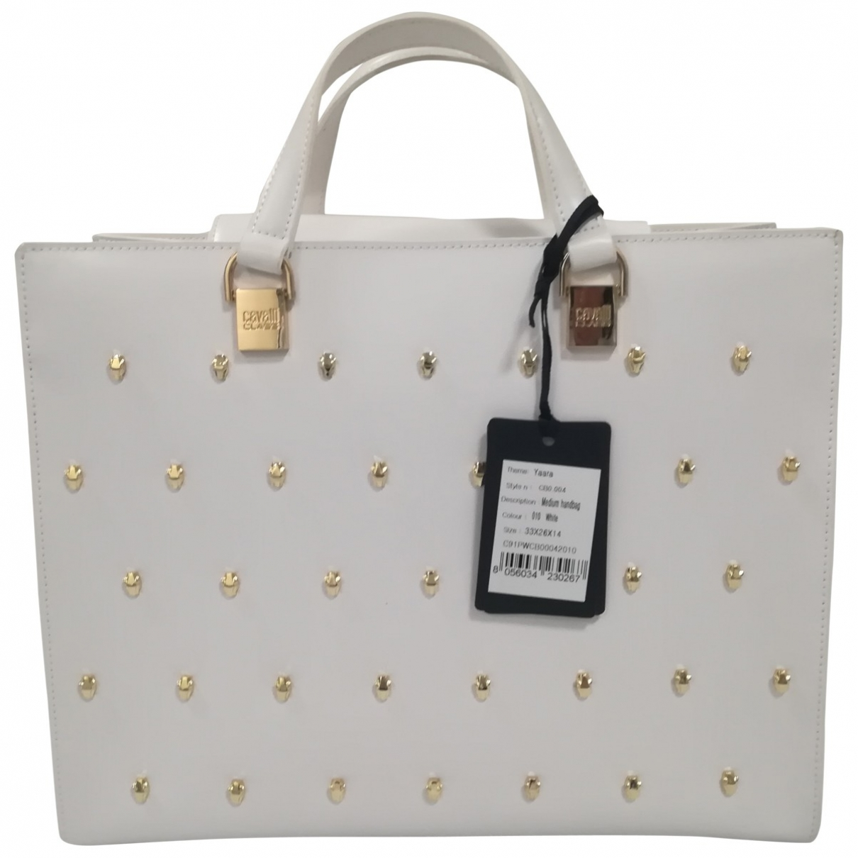 Class Cavalli \N White Leather handbag for Women \N