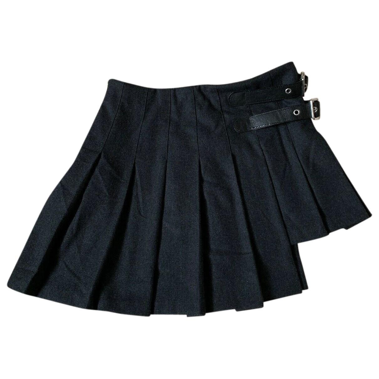 D&g \N Black Wool skirt for Women 44 IT