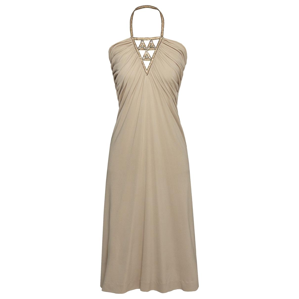 Azzaro - Robe   pour femme - beige