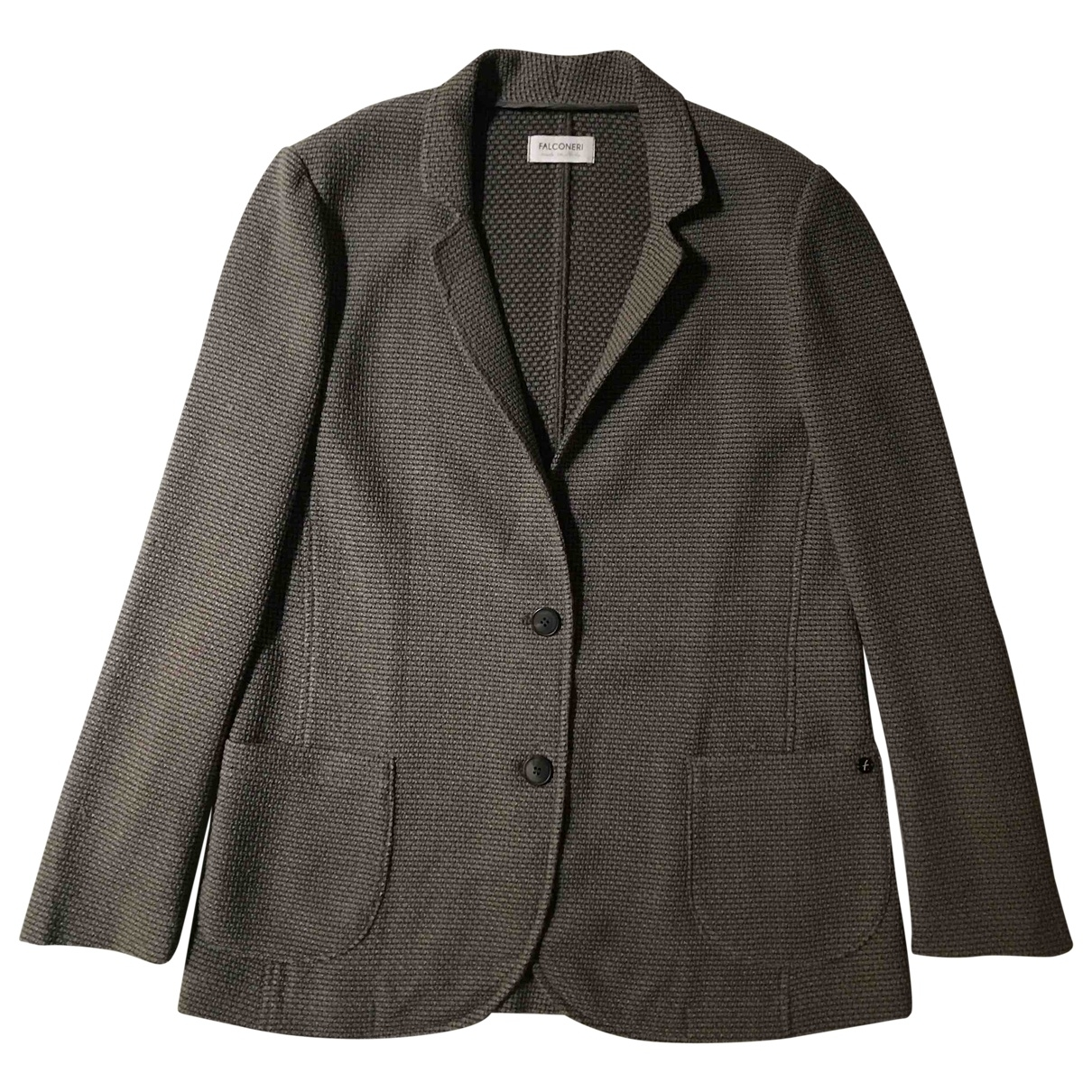 Falconeri - Veste   pour femme en cachemire - marron