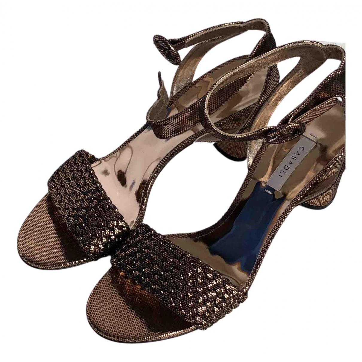 Sandalias de Con lentejuelas Casadei