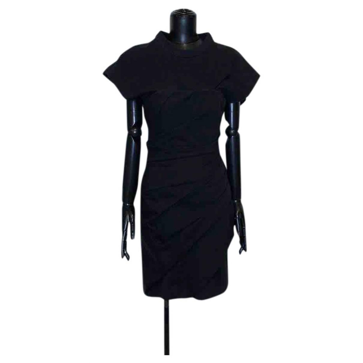 Alexander Wang \N Kleid in  Schwarz Baumwolle