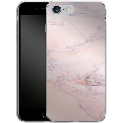Apple iPhone 6 Plus Silikon Handyhuelle - Blush Marble von Emanuela Carratoni