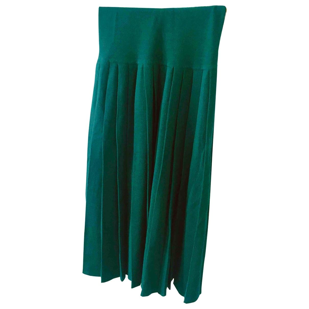 Falda midi de Lana Non Signe / Unsigned