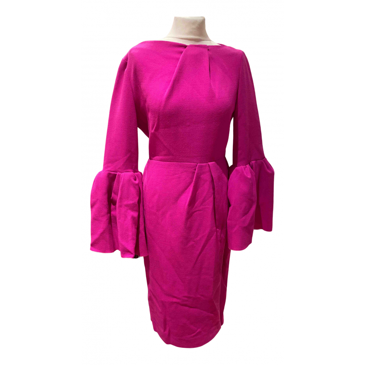 Roksanda Ilincic - Robe   pour femme en laine - rose