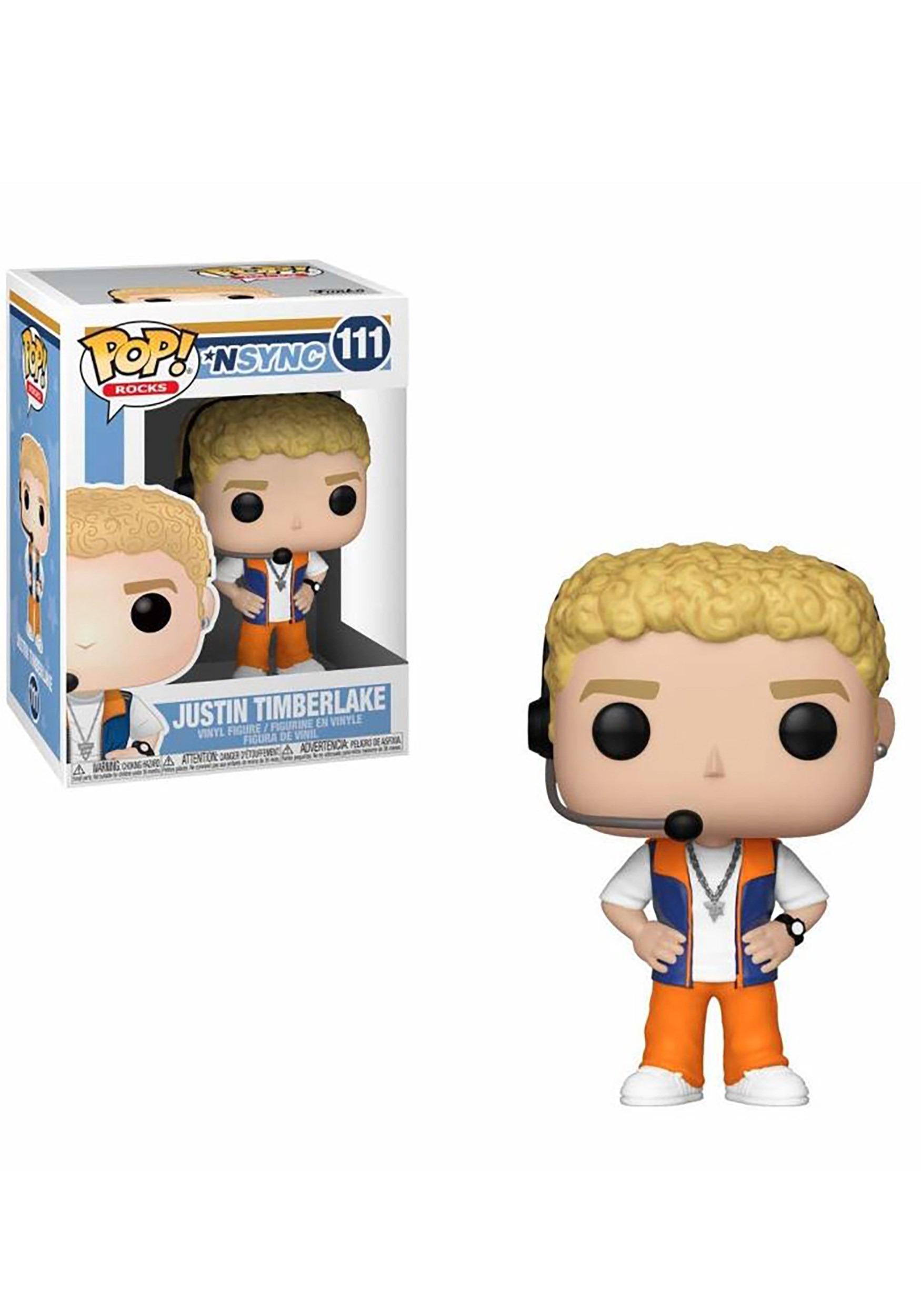 Pop! Rocks: NSYNC- Justin Timberlake Figure