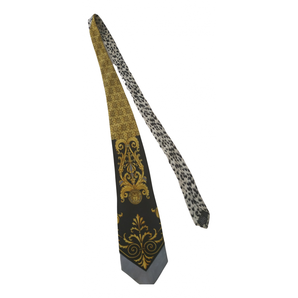 Gianni Versace N Camel Silk Ties for Men N
