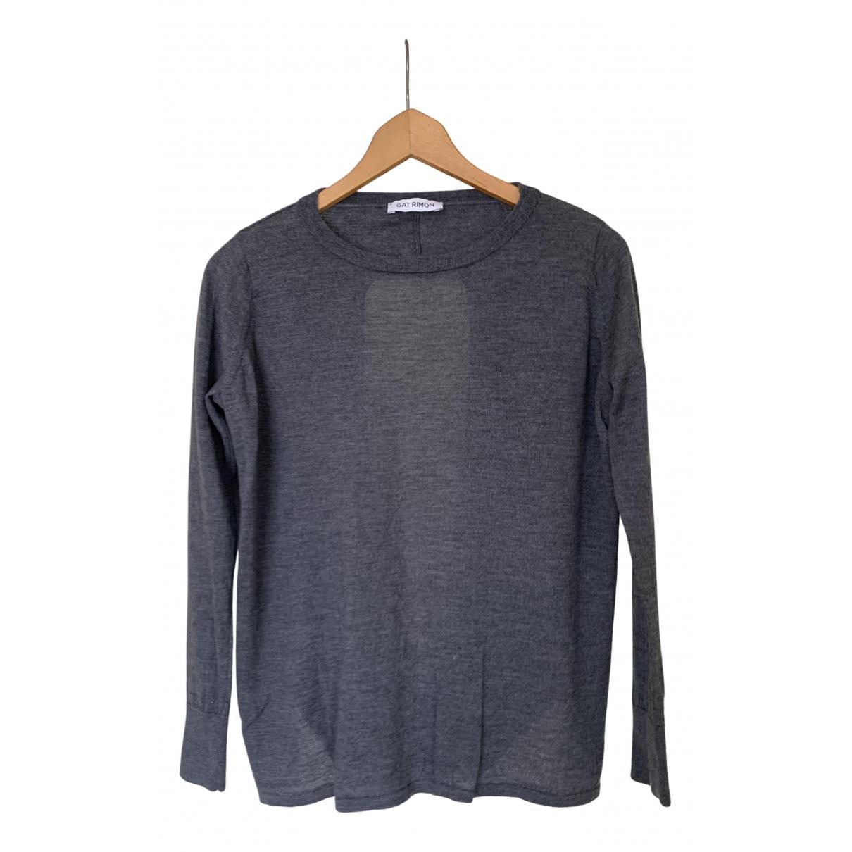 Gat Rimon N Grey Wool Knitwear for Women 1 0-5