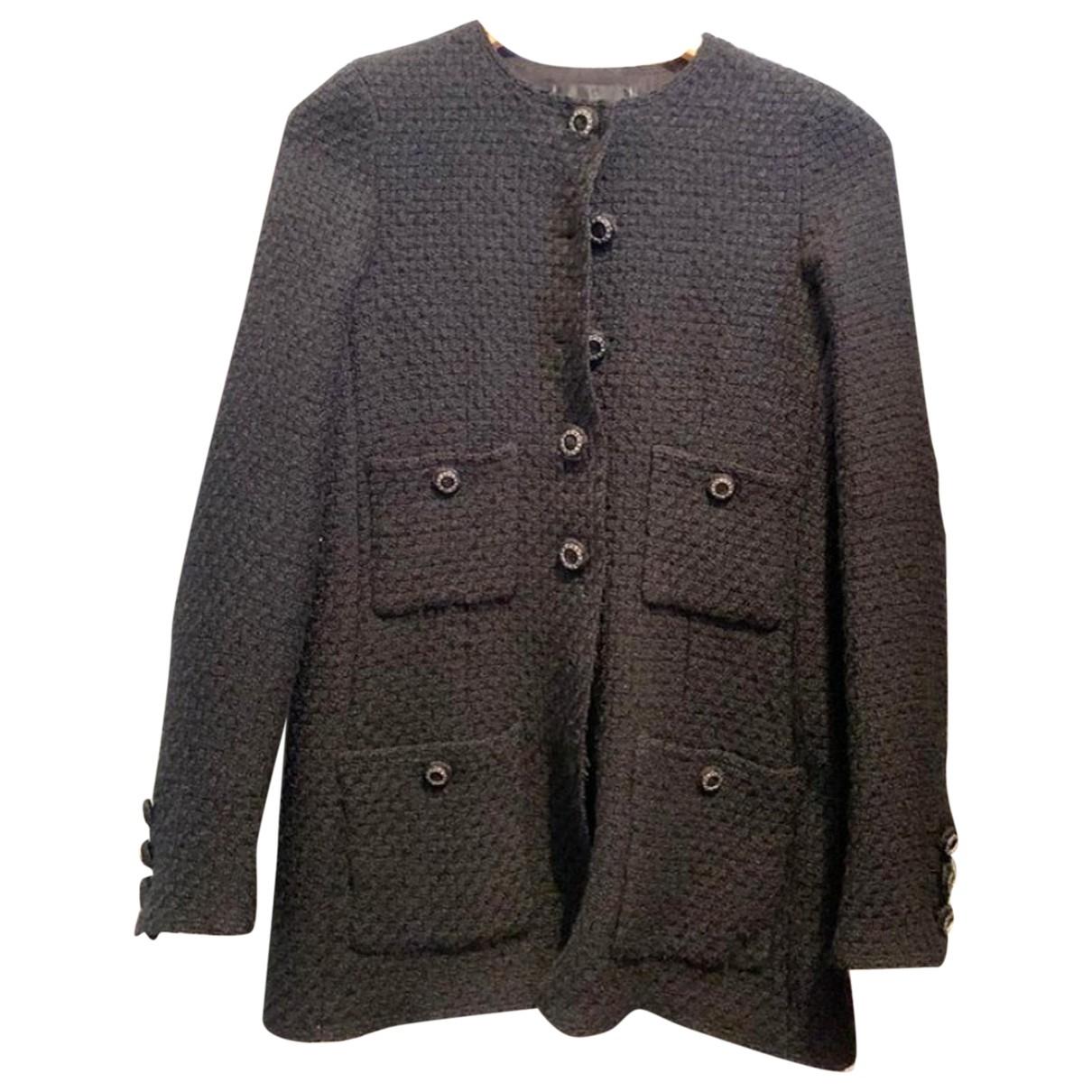 Chanel \N Black Wool jacket for Women 36 FR