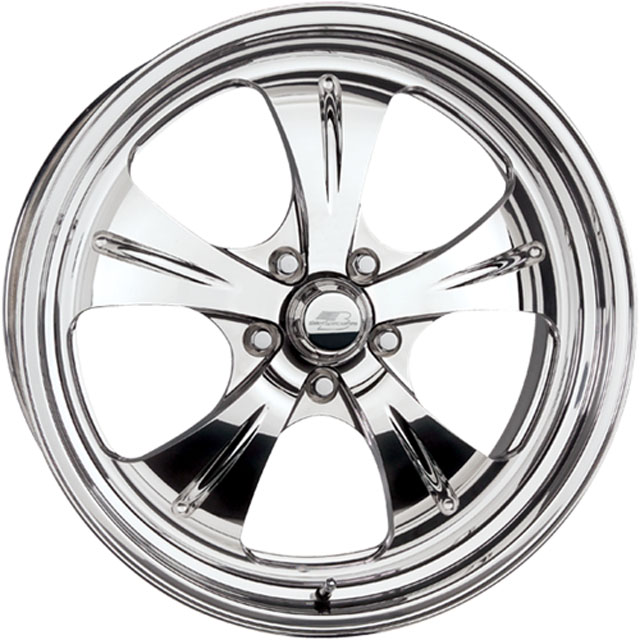 Billet Specialties PS50515Custom PS50 Qualifier Wheel 15x15