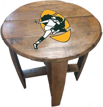 622-1001    Green Bay Packers Historical Oak Barrel