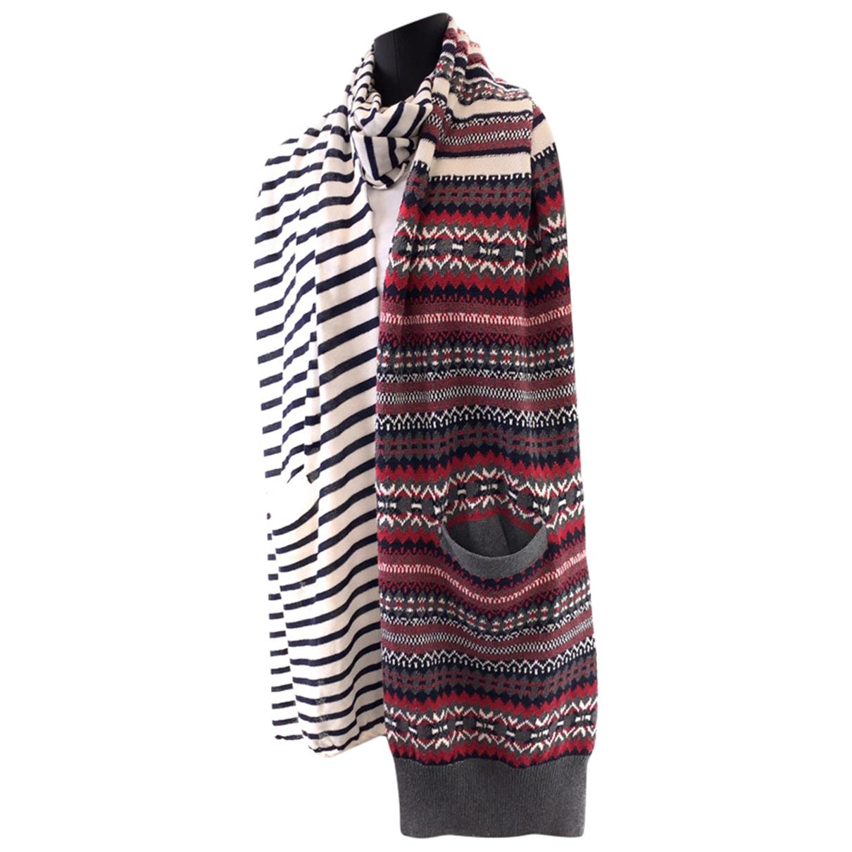 Sacai - Foulard   pour femme en coton