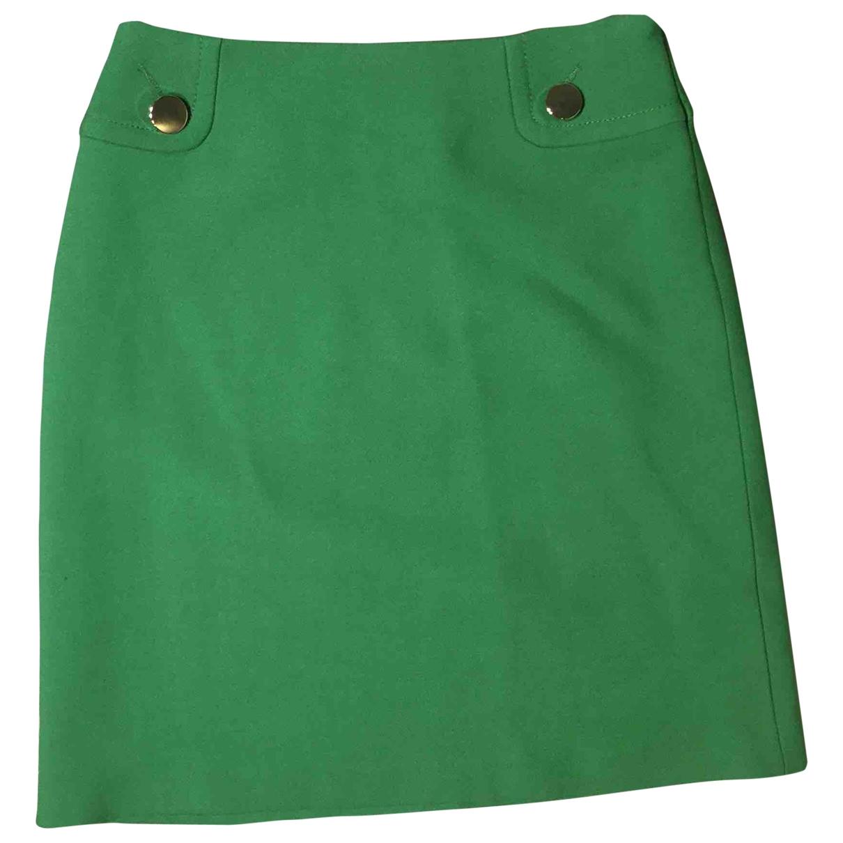 Tara Jarmon - Jupe   pour femme en laine - vert