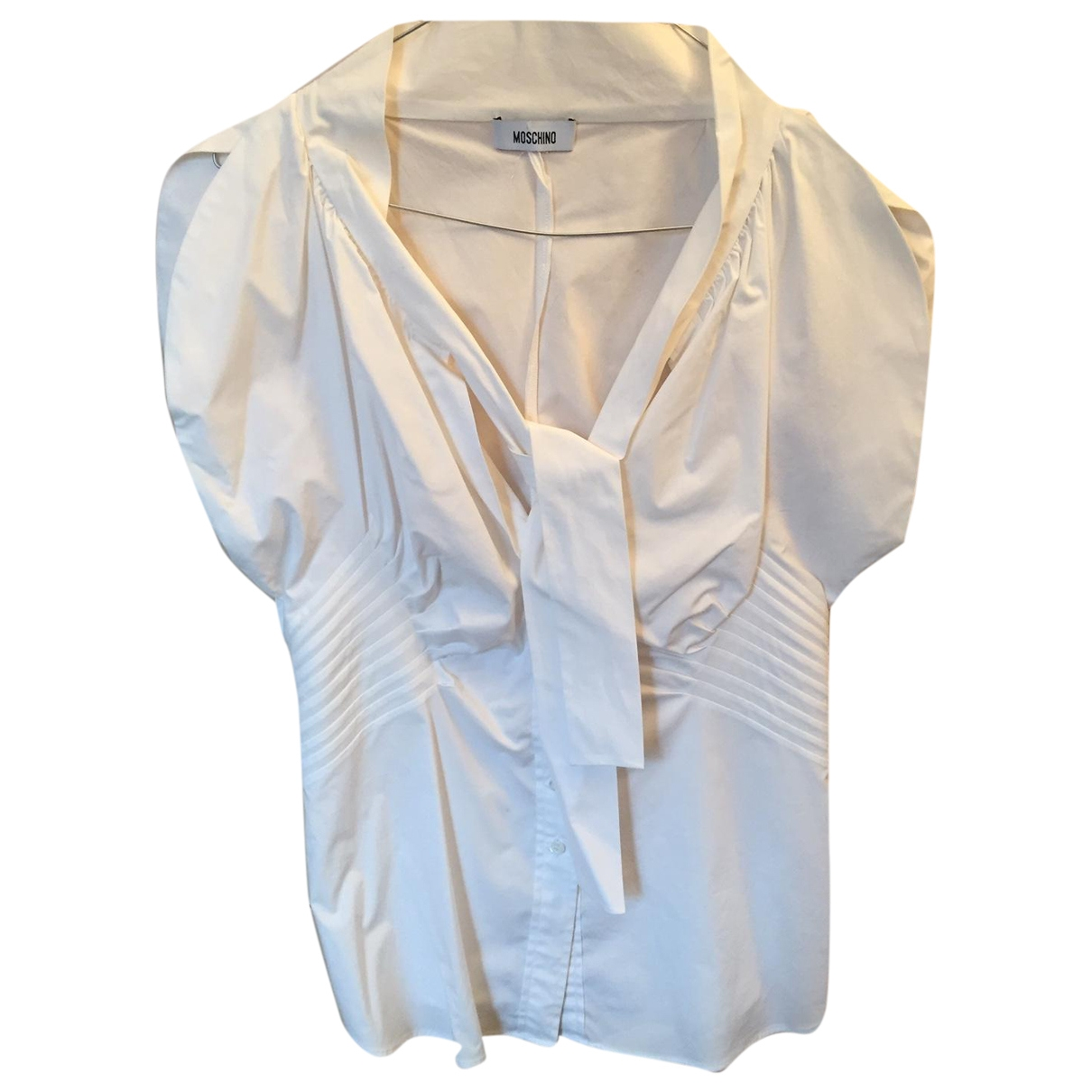 Moschino \N White Cotton  top for Women 44 IT