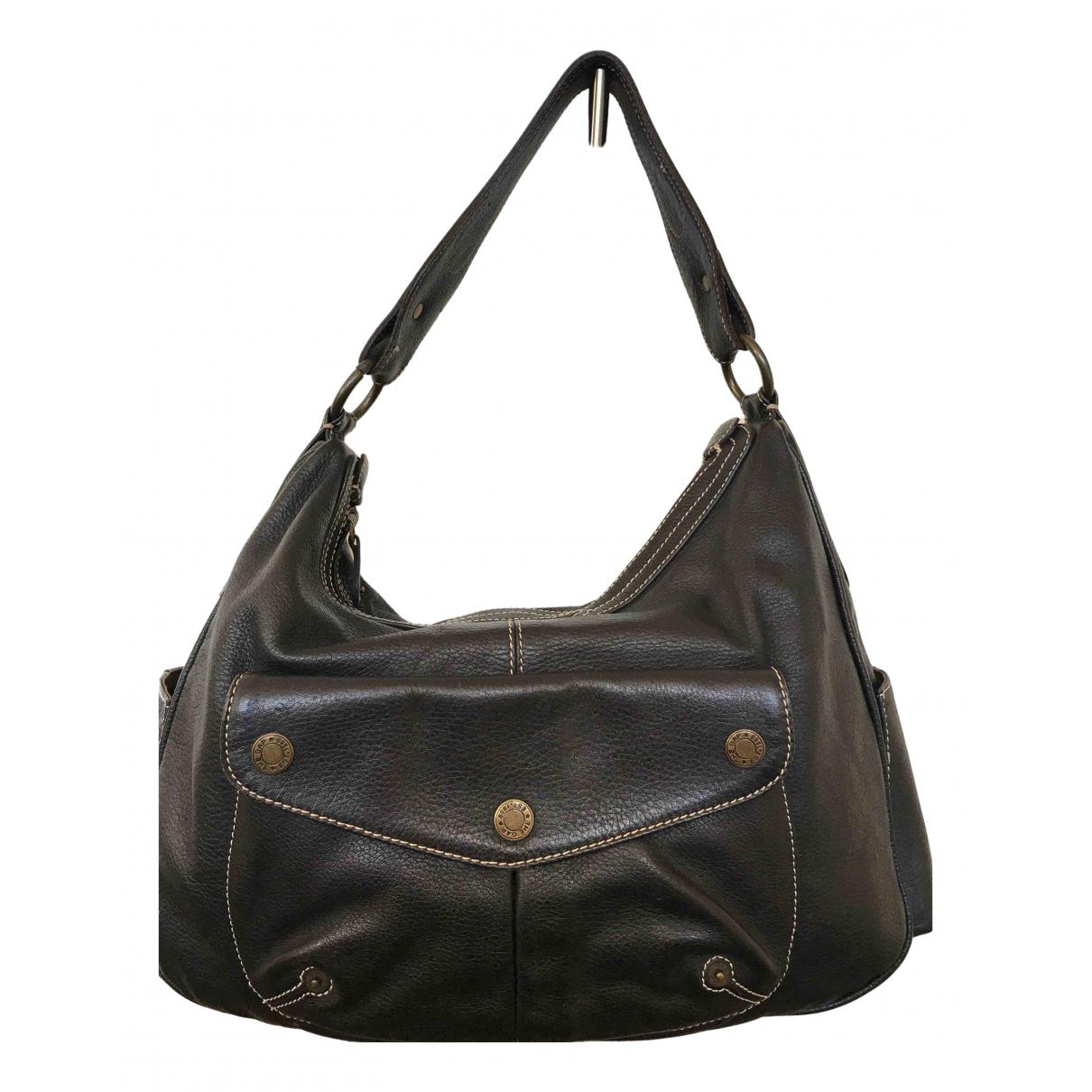 Fossil \N Handtasche in  Braun Leder