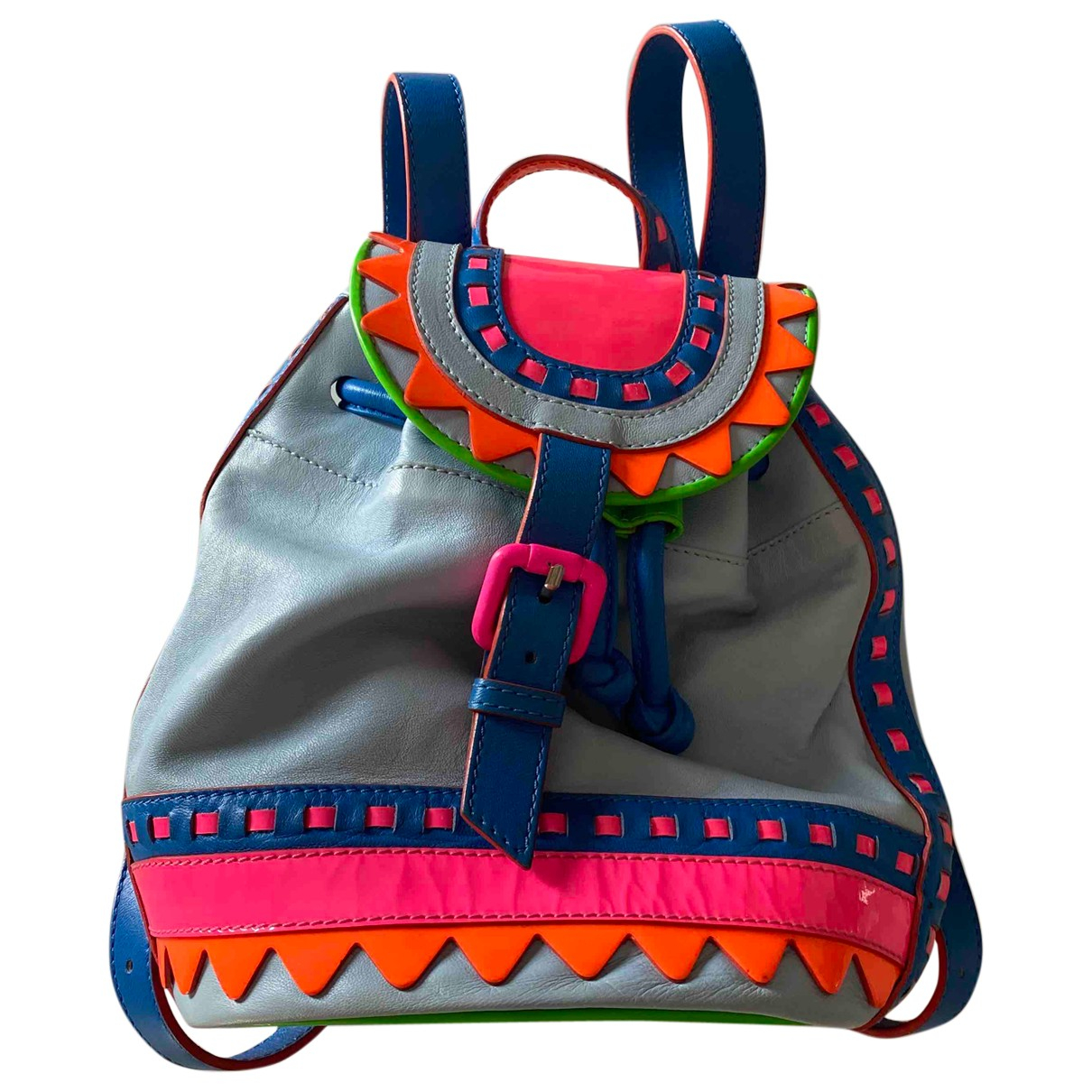 Sophia Webster \N Rucksaecke in  Bunt Leder