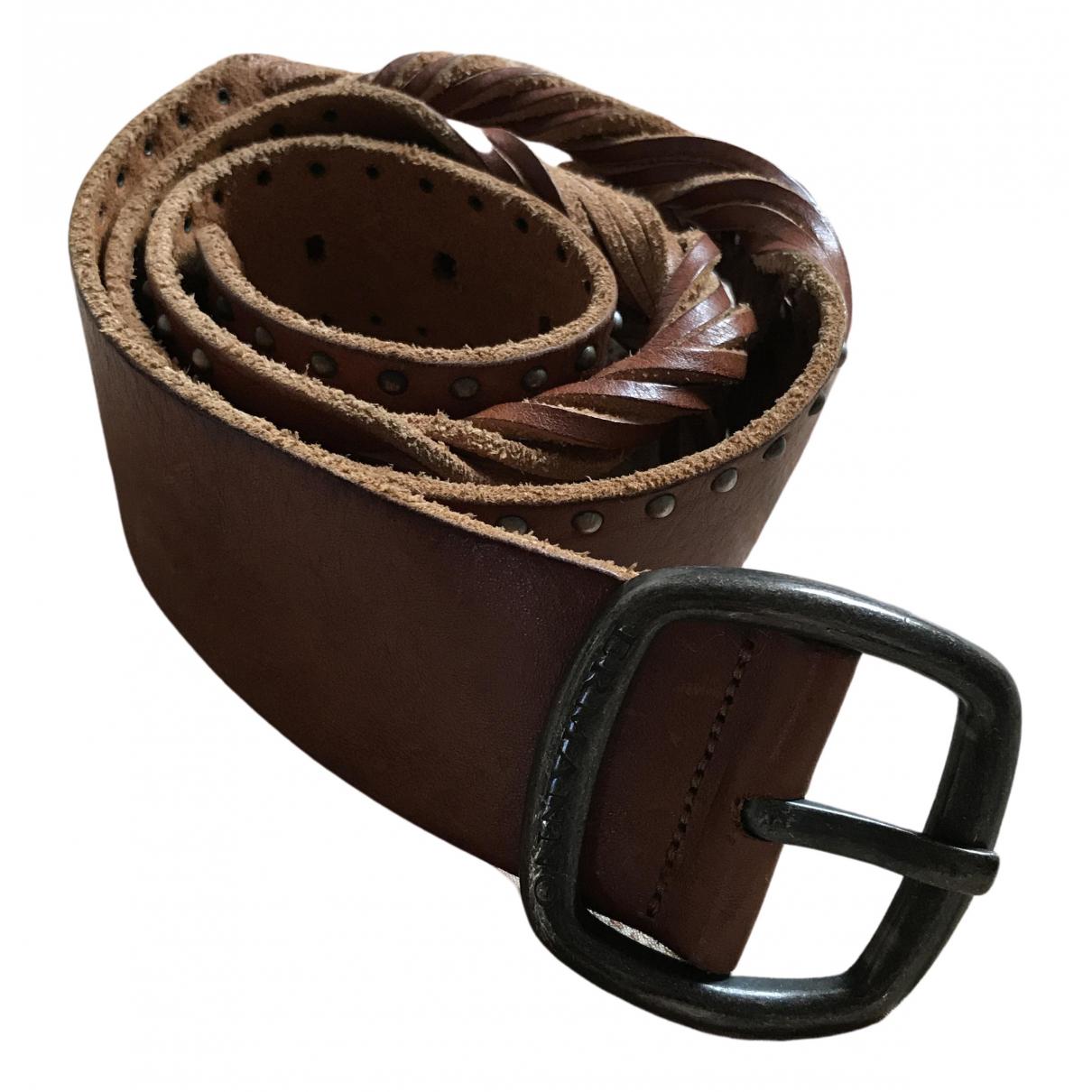 Cinturon de Cuero Ermanno Scervino