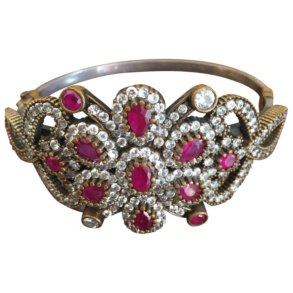 - Bracelet Rubis pour femme en argent - rouge