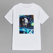 Guys Graphic Print Tee