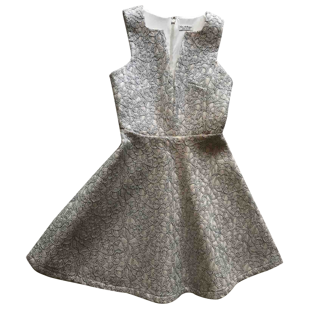 Miss Selfridge \N Kleid in  Silber Polyester