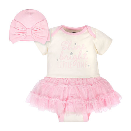 Gerber Baby Girls 2-pc. Baby Clothing Set, Newborn-3 Months , Multiple Colors