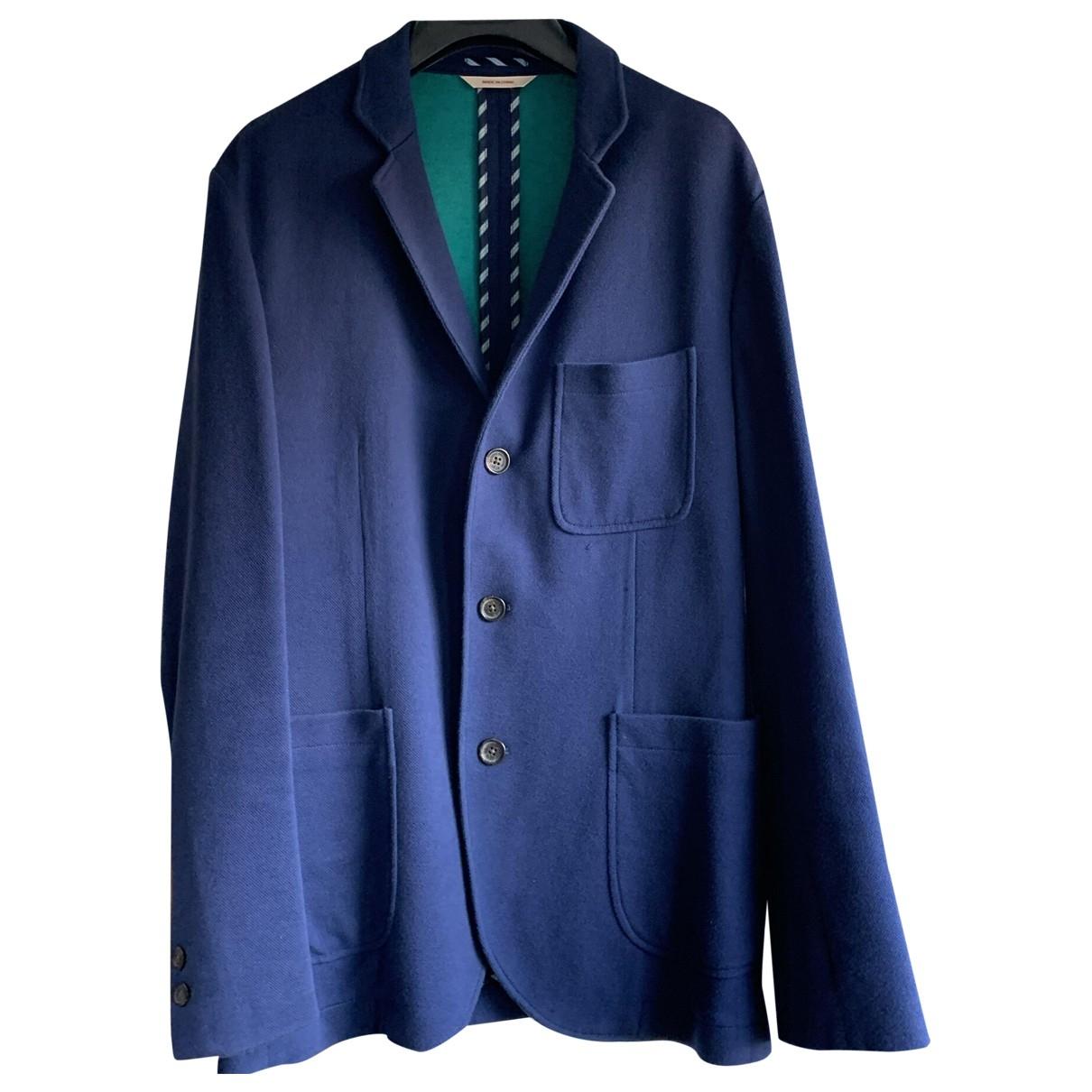 Brooks Brothers - Vestes.Blousons   pour homme en coton - bleu